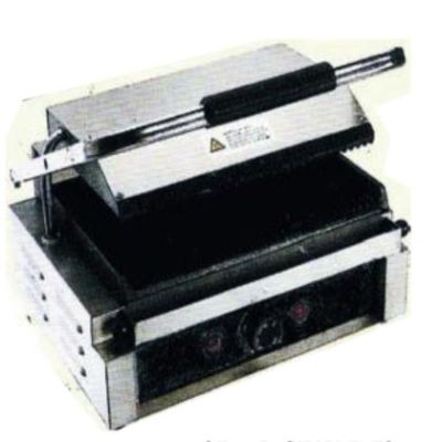 Sandwichera industrial grill eléctrico Beckers GE-1-B-SIMPLE-ES