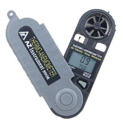 Mini termo anemómetro 8908 AZ