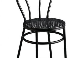 silla de tubo rejilla metálica