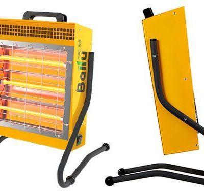 Calefacción Radiante Portátil Tecna BIH-LM-1.5