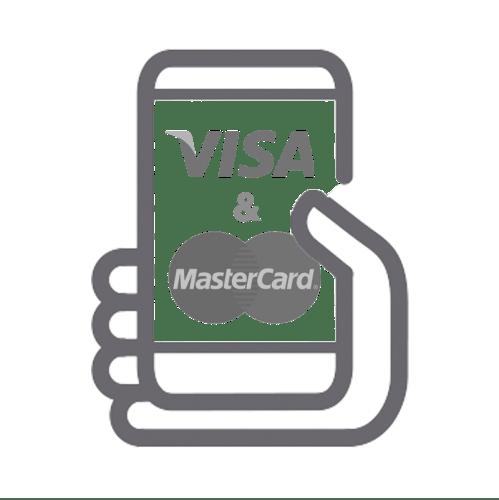 Icono Visa & Mastercard