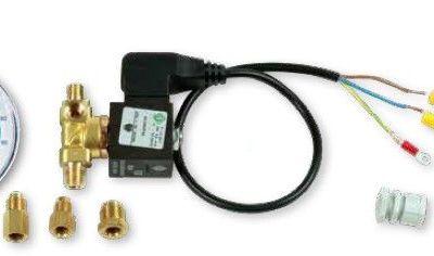 Kit Completo de Electroválvula, Vacuómetro y Conector Eléctrico Wigam