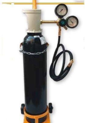 Kit Presurización Nitrógeno 60 Bar Botella B7 Wigam KIT N2-07/SK