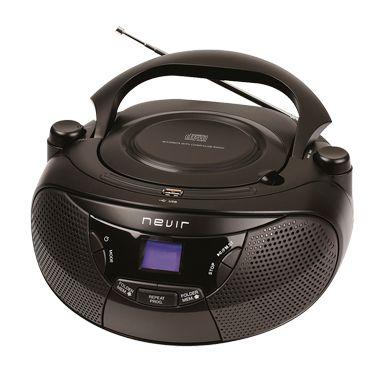 Radio CD Nevir NVR475