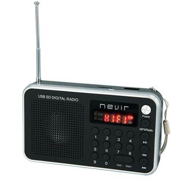 Radio portátil Nevir NVR 129DUC