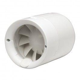 Ventiladores helicoidales S&P In-Line Serie SILENTUB
