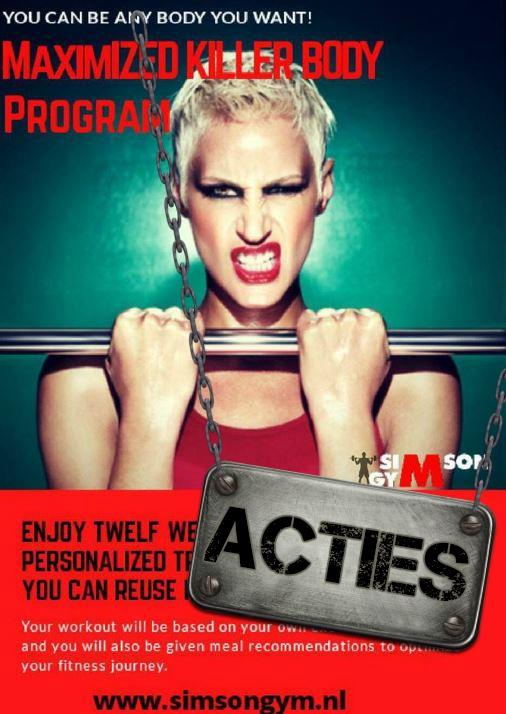 Sportschool SimsonGym | Muay Thai | Kickboksen | Personal Training | Groepslessen | Fitness | Krachttraining | Almere-Buiten | Yoga