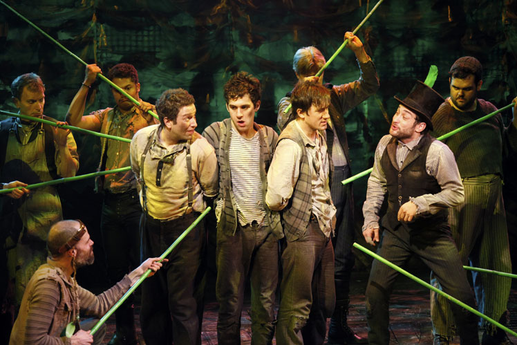 Peter Pan Crows Again With Disney Magic, Off-Broadway