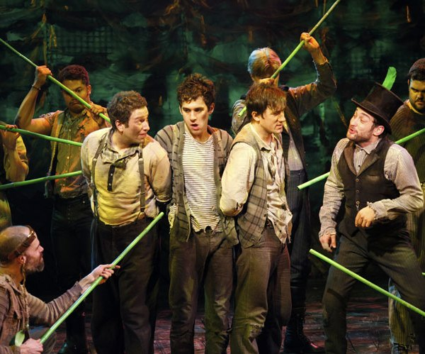 Peter Pan Crows Again With Disney Magic, Off-Broadway