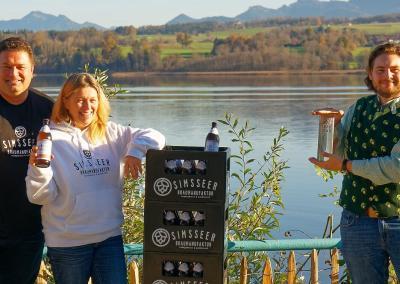 """Bier-WM"" 2020: Bronze-Medaille geht an den Simssee"