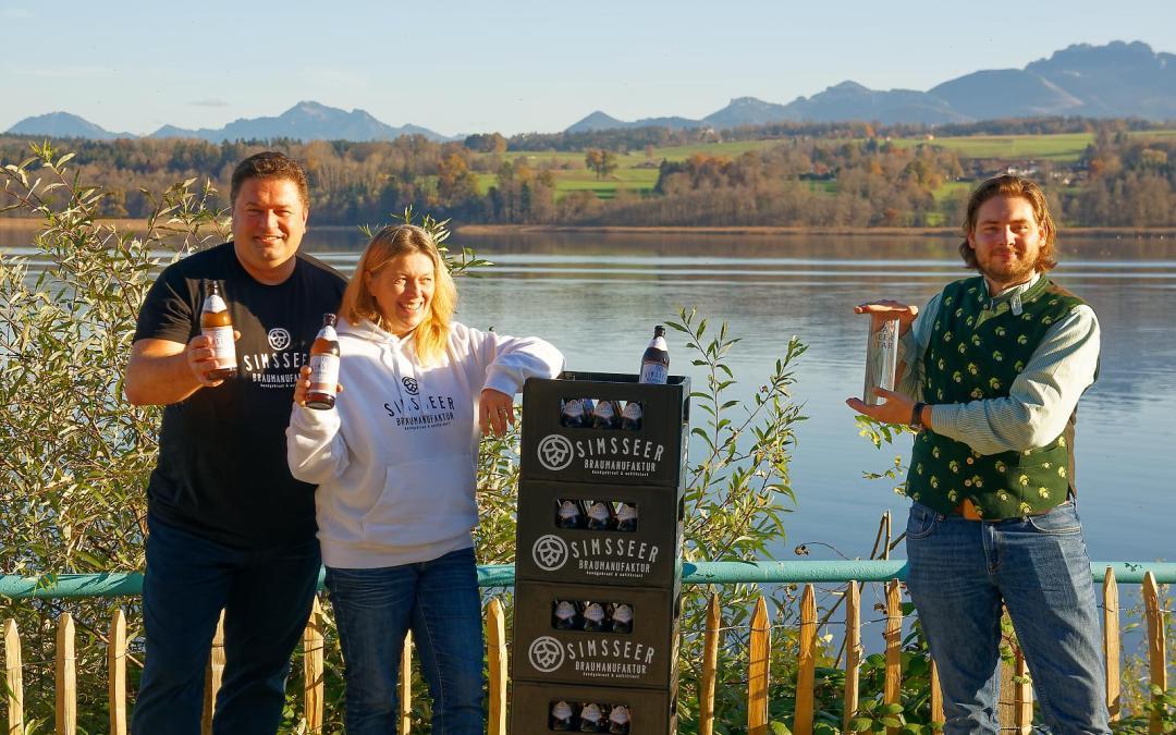 Bier-WM: Bronze-Medaille geht an den Simssee
