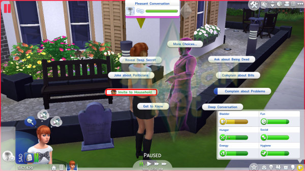 Sims 4 Hayalet Rehberi