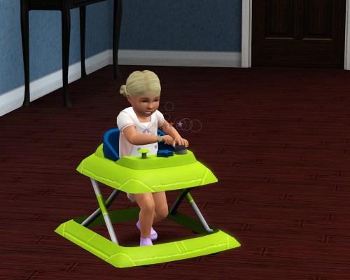Sims 3 Toddler Walker