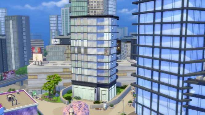 The Sims 4 City Living Apartments