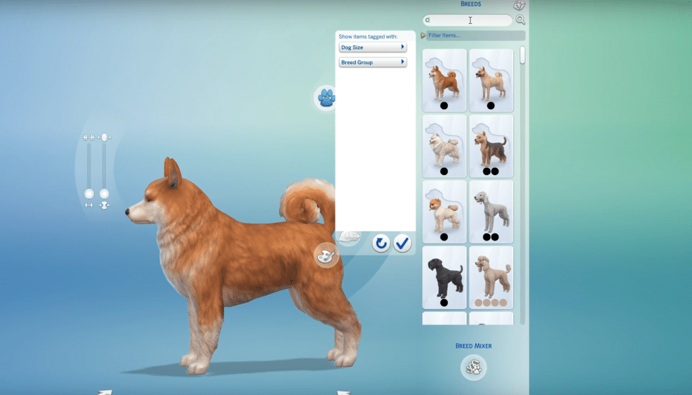 Sims  Cats And Dogs In Polish