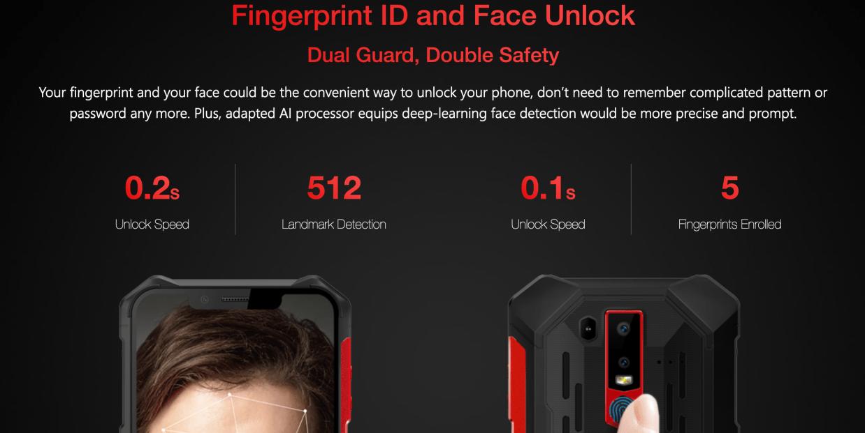 Ulefone Armor6 fingerprint
