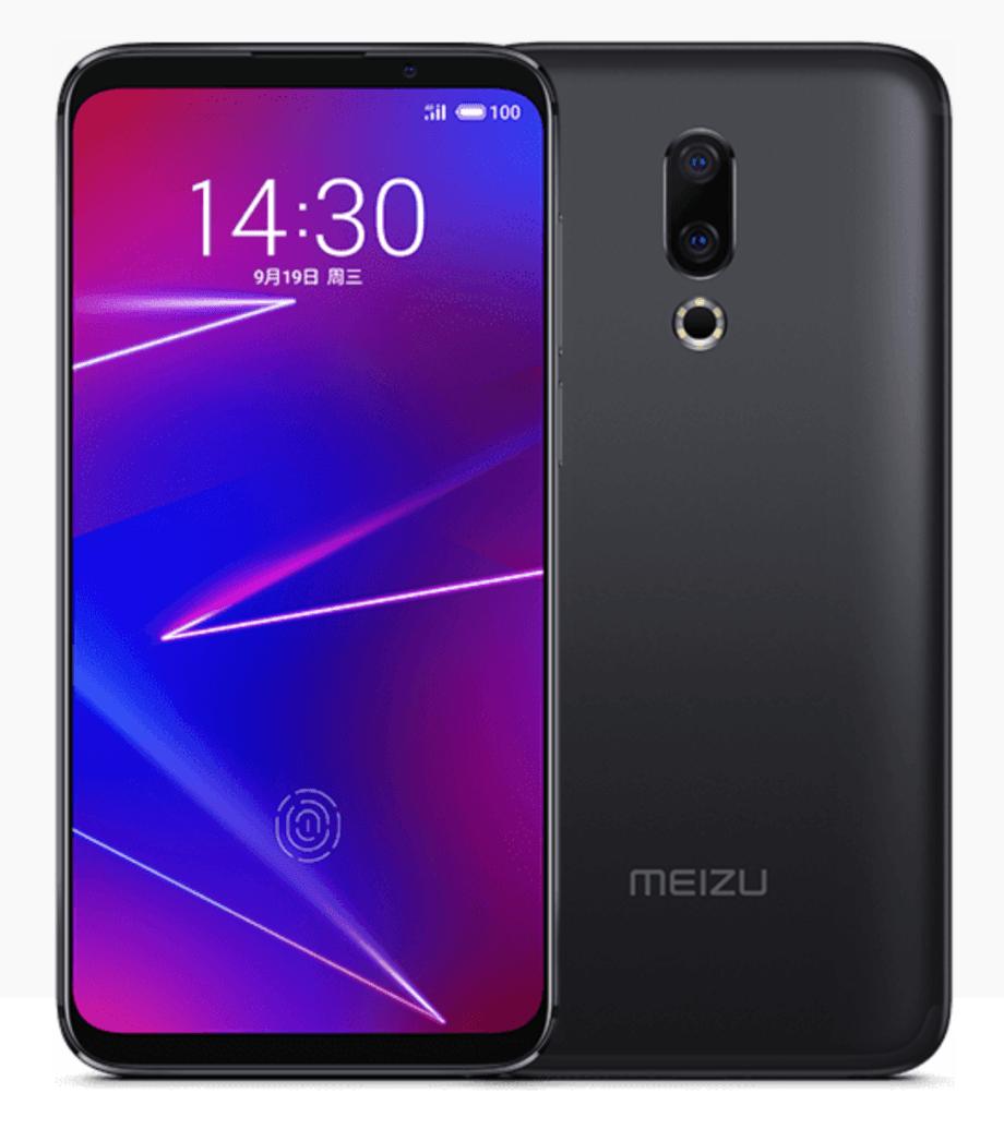 MEIZU 16Xのデザイン