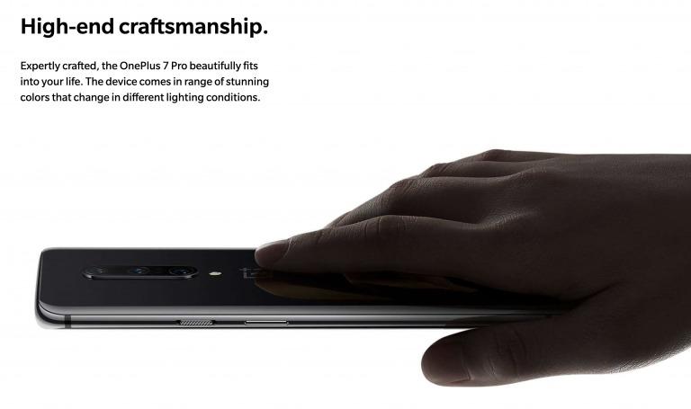 OnePlus 7 Proの背面
