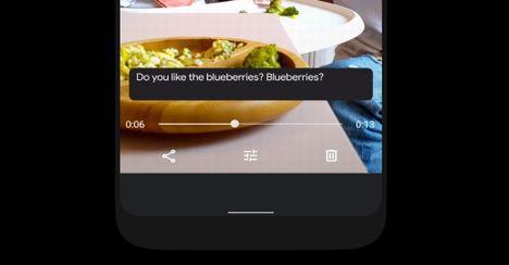 Android 10のLiveCaption