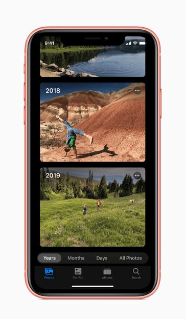 iOSの新しい写真アプリ