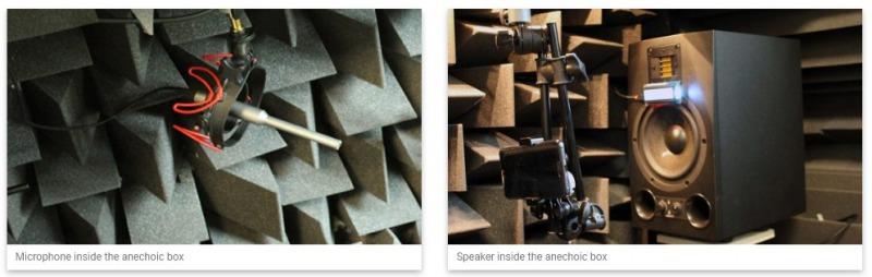 DxOMark Audio 無響室