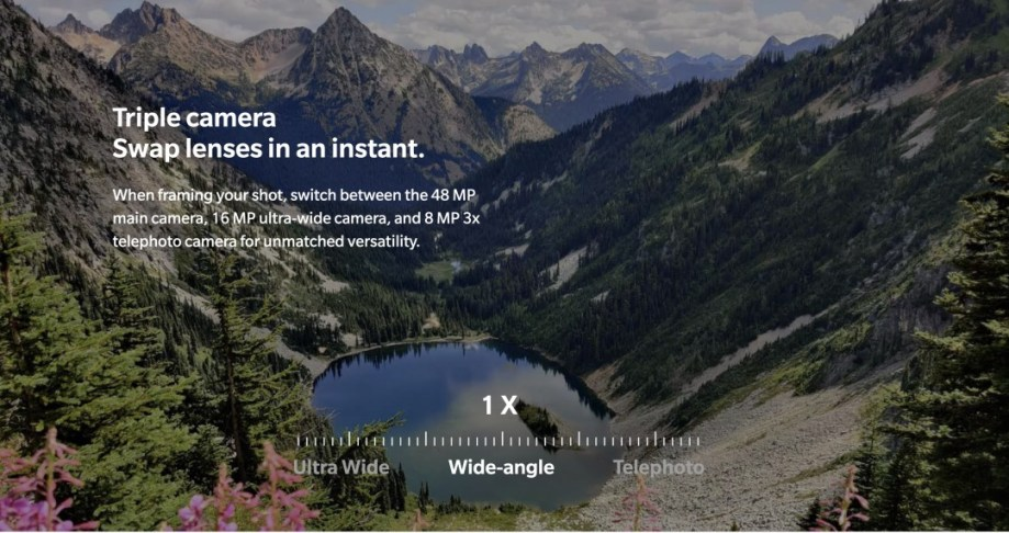 OnePlus 7T Proの3倍望遠カメラ