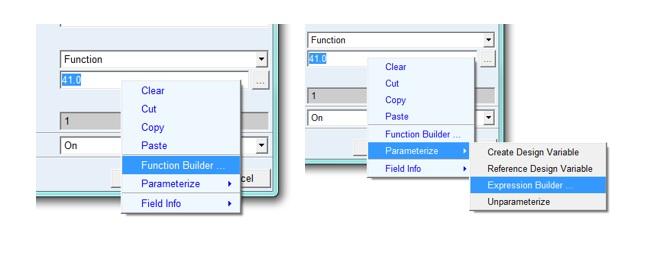 accesing function builder