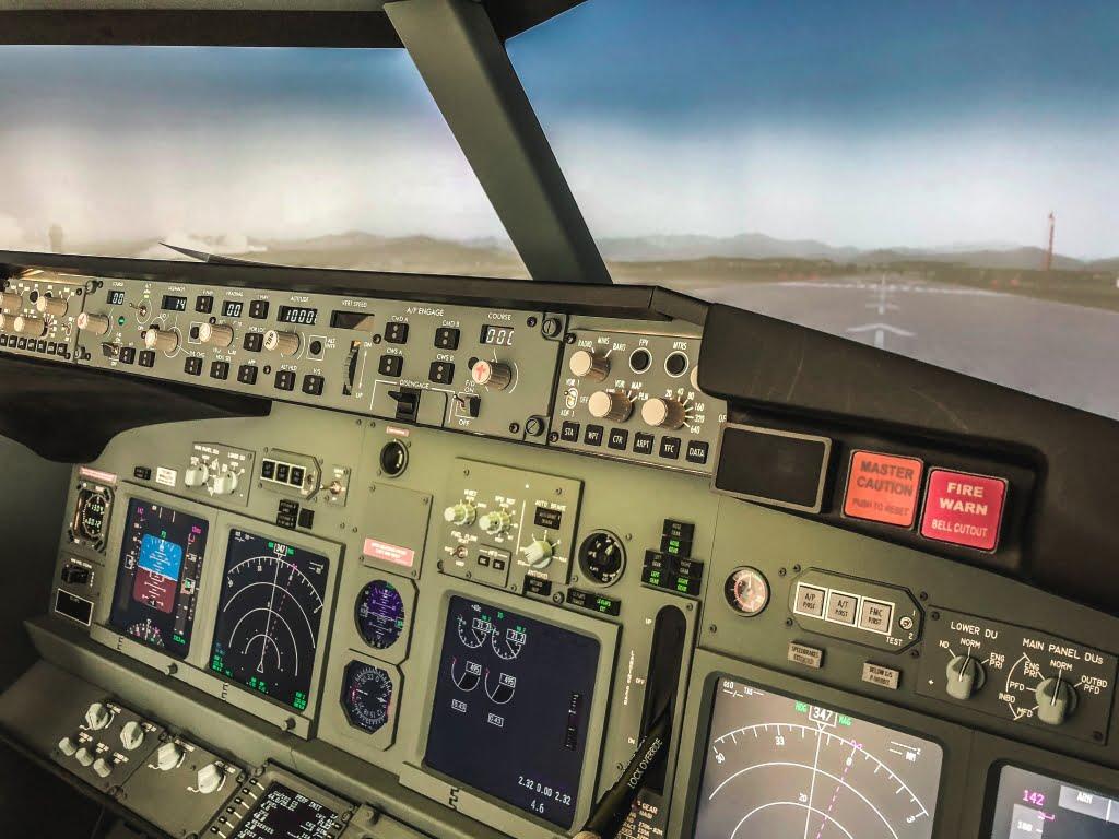Simulatore di volo a MIlano