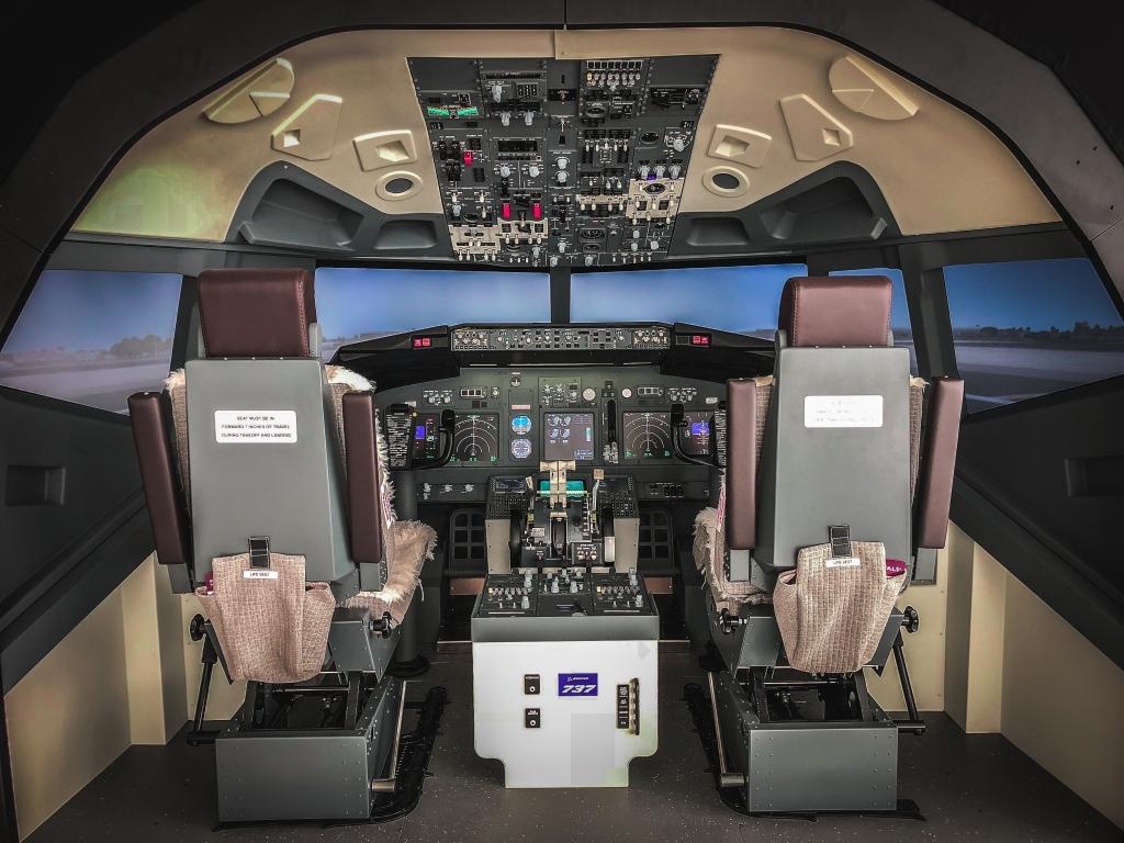 Simulatore 737 Milano