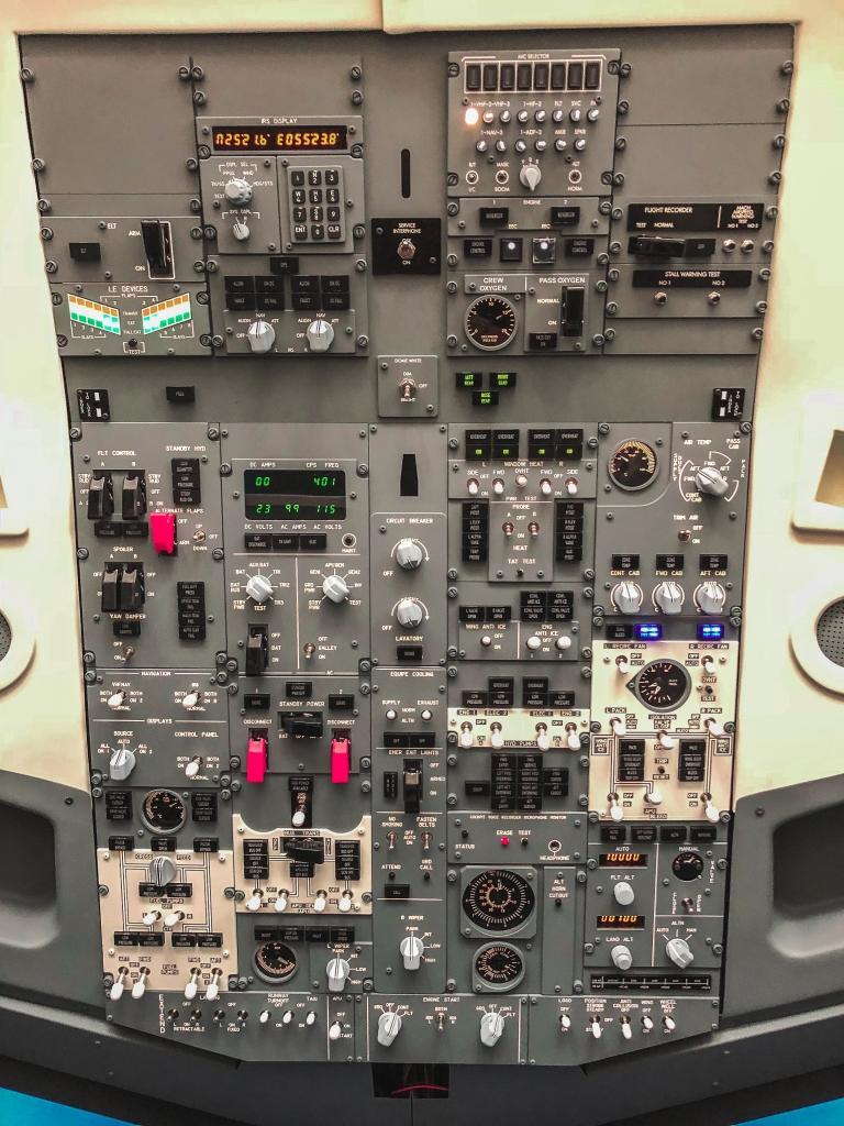 Boeing 737 simulator Milan
