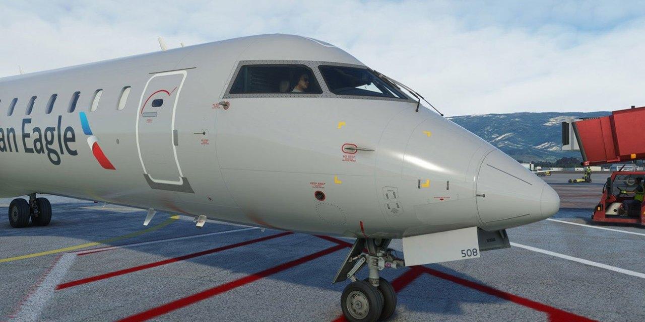 Aerosoft vydává CRJ 550/700 pro Microsoft Flight Simulator