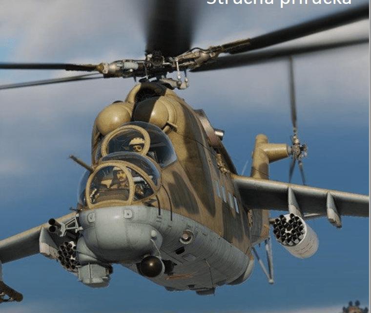 DCS: Mi-24P Hind Stručná příručka EA Manuál CZ