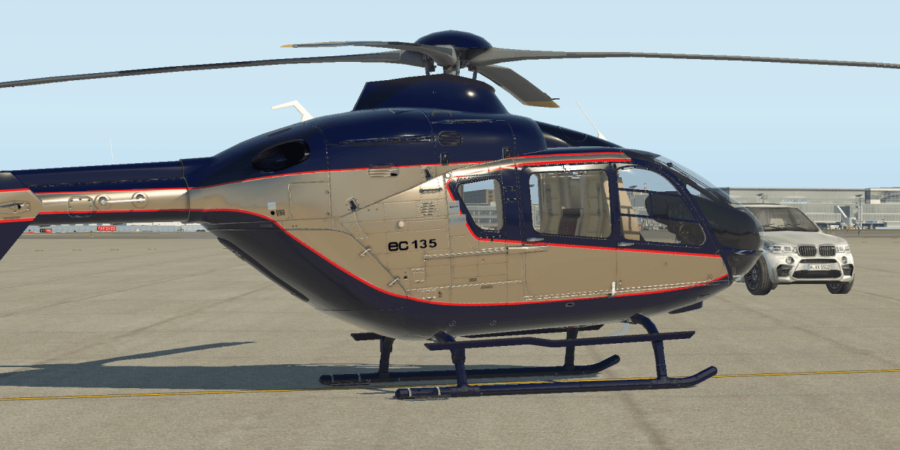 ROTORSIM EC-135 aktualizace na verzi 5.0.3