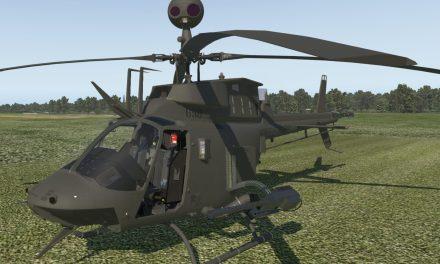 Vydání OH-58D Kiowa pro X-Plane a zdarma