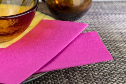 SimuLinen Signature Colored Magenta Dinner Napkins