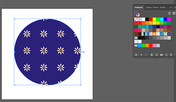 appliquer motif illustrator