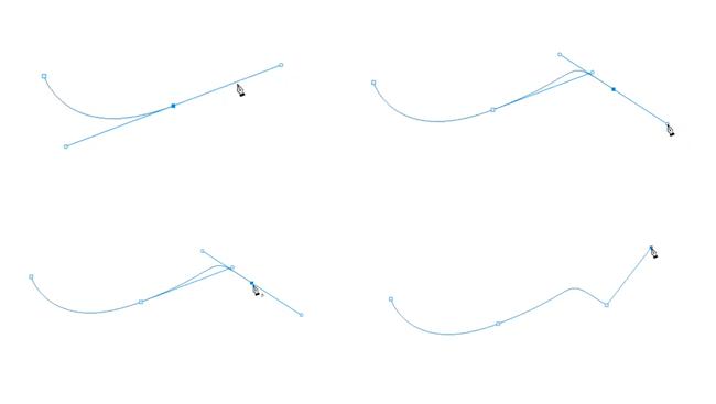 tracer une courbe avec la plume photoshop