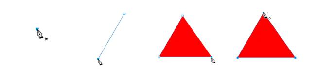tracer triangle avec la plume