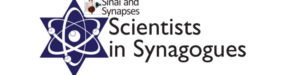 """Announcing Selected Congregations for """"Scientists in Synagogues"""""""