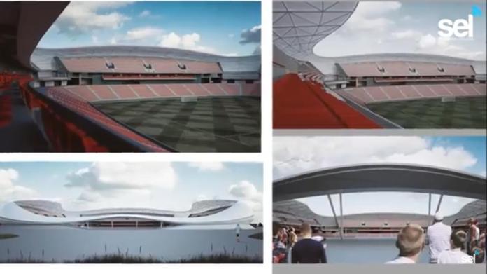 Resultado de imagen de nuevo estadio futbol mazatlan