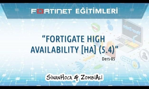 Fortigate High Availability