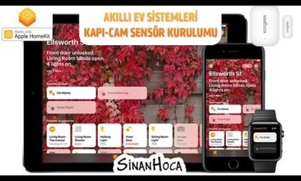 Akıllı Ev Sistemleri (Smart Home) Kapı Sensörü 3/3