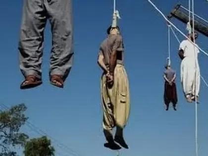 Resultado de imagen de AHORCADOS EN IRAN