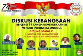 Kawal Pemerintahan Jokowi-Ma'aruf, Vote 1 Indonesia Sudahi Cebong versus Kampret.