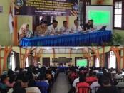 Ket. foto: SMA N 4 Pematangsiantar mengadakan acara Musyawarah Orangtua/Wali Peserta Didik SMA N 4 Pematangsiantar Tentang Program dan Pendanaan (Sinar Keadilan/A.S)