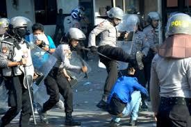 Buruh, Tani, Nelayan, Rohaniawan, Akademisi, Wartawan, Mahasiswa, Pelajar, Semua Kena Tindakan Represif Bunuh 2 Orang Peserta Aksi, KIARA: Aparat Terkutuk!
