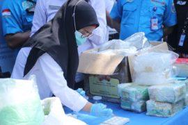 BNN Kembali Gelar Pemusnahan Narkoba Jaringan Sindikat Internasional.