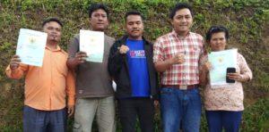 LBH Dairi Turun Advokasi Warga Untuk Pengurusan Sertifikat Tanah.