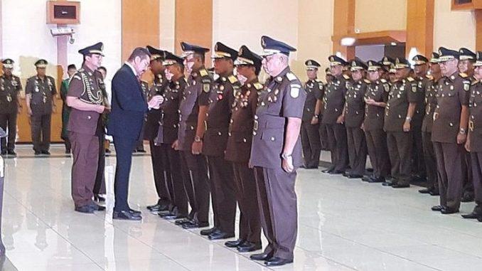Lantik Pejabat Eselon I dan II, Jaksa Agung ST Burhanuddin Tekankan Reformasi Birokrasi dan Lelang Jabatan.