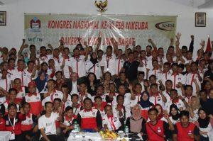 Kongres VI Federasi Serikat Buruh Niaga, Keuangan dan Perbankan Konfederasi Serikat Buruh Seluruh Indonesia (FSB NIKEUBA KSBSI), di Hotel Grand Asrilia, Kota Bandung, Jawa Barat, selama tiga hari dari tanggal 1-3 Desember 2019.